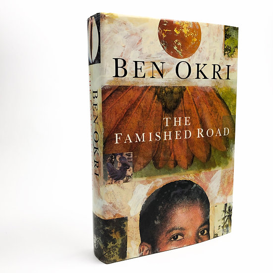 The Famished Road signed and lined by Ben Okri 1st / 1st 1991