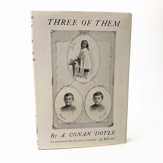 Three of Them by Arthur Conan Doyle 1st / 1st 1923