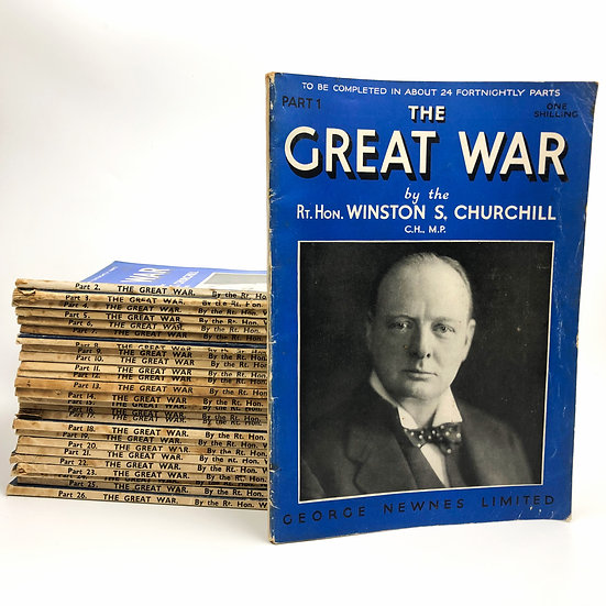 The Great War by Winston S Churchill original parts 1st / 1st 1933