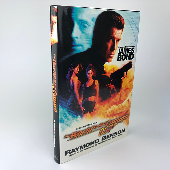 The World is Not Enough signed by Raymond Benson 1st / 1st 1999