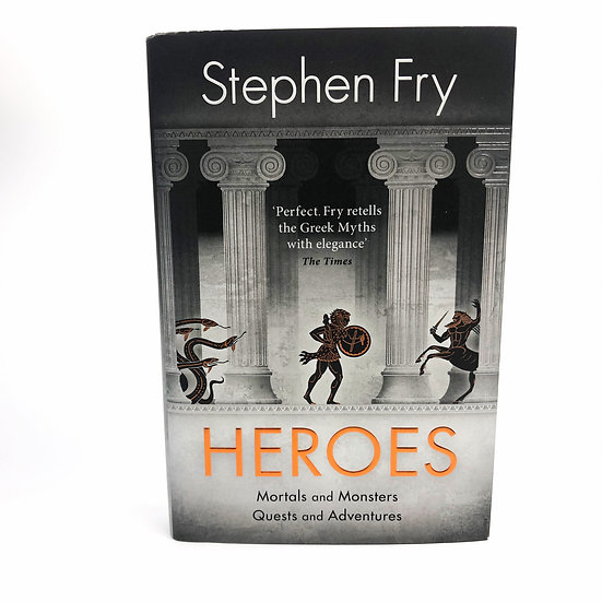 Heroes Signed by Stephen Fry 1st / 1st 2018
