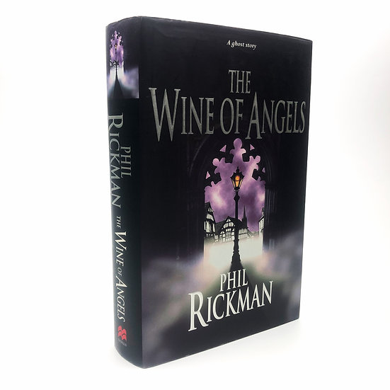 The Wine of Angels Signed and Lined by Phil Rickman 1st / 1st 1998