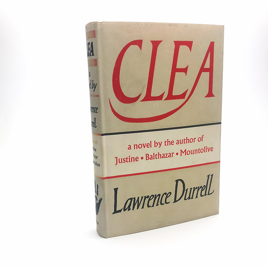 Clea by Lawrence Durrell 1st / 1st 1960
