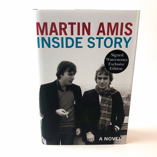 Inside Story signed by Martin Amis 1st / 1st 2020