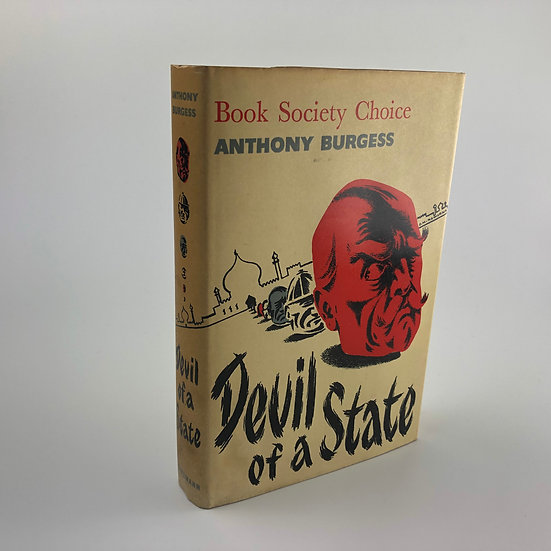 Devil of a State signed by Anthony Burgess 1st / 1st 1961
