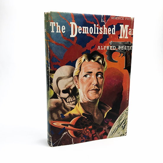 The Demolished Man by Alfred Bester 1st / 1st 1953