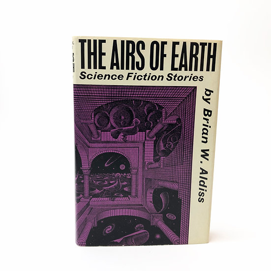 The Airs of Earth Signed Association by Brian W Aldiss 1st / 1st 1963