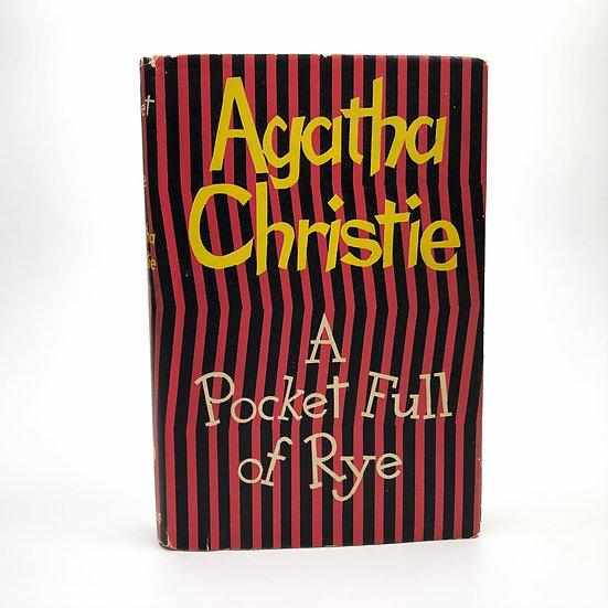 A Pocket Full of Rye by Agatha Christie 1st / 1st 1953
