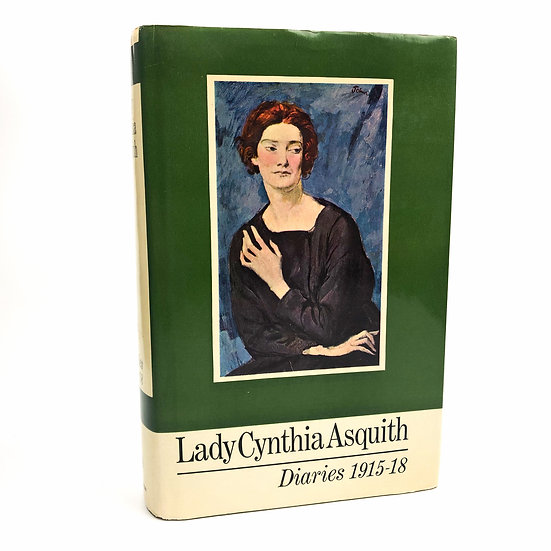 Diaries 1915-1918 by Lady Cynthia Asquith 1st / 1st 1968