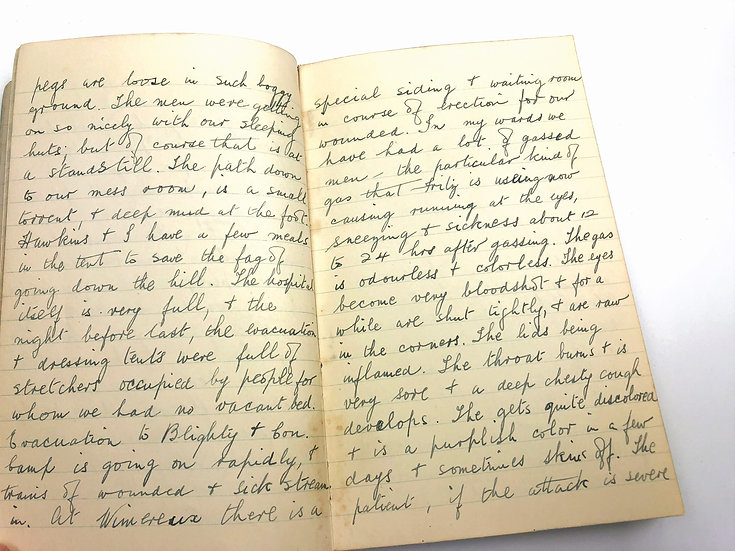 A Nurse's Diary serving in Passchendaele WW1 1917