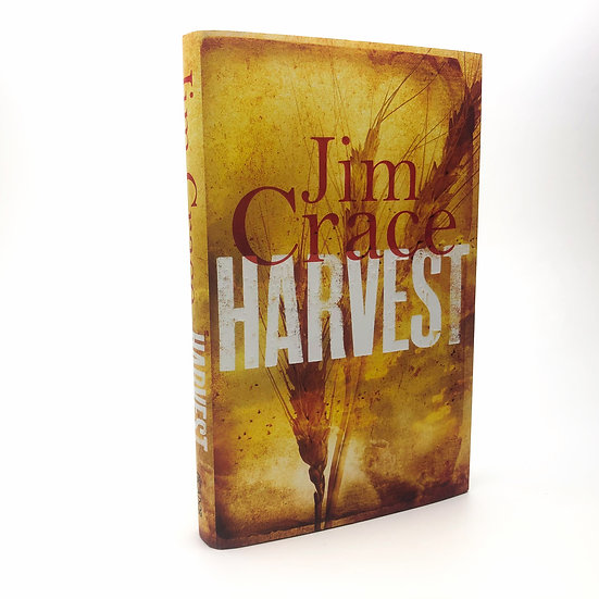 Harvest Signed by Jim Crace 1st / 1st 2013