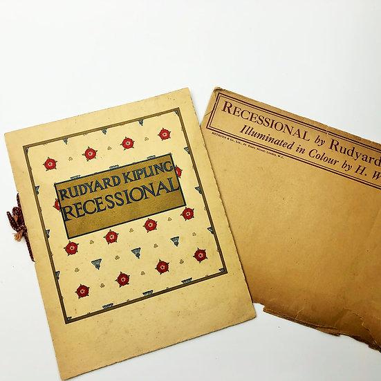 Recessional by Rudyard Kipling 1st 1915