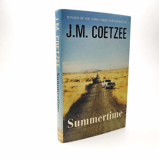 Summertime Signed by J.M. Coetzee 1st / 1st 2009