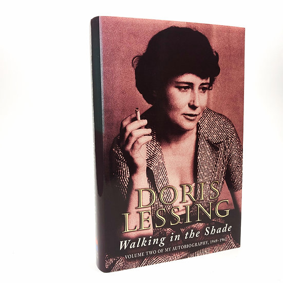 Walking in the Shade Signed and dated  by Doris Lessing 1st / 1st 1997