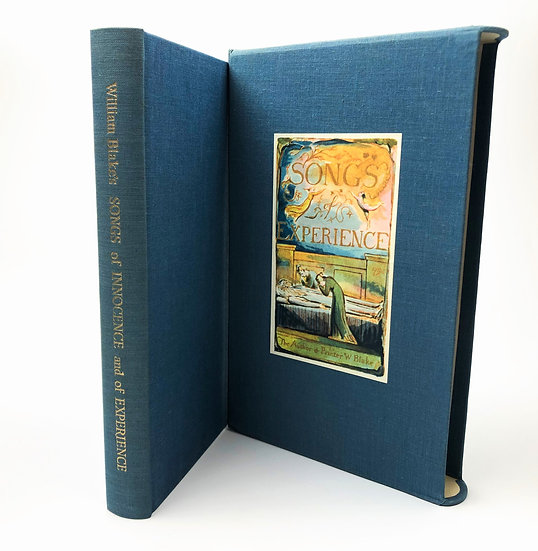 Songs of Experience William Blake Signed by Geoffrey Keynes 1st 1967