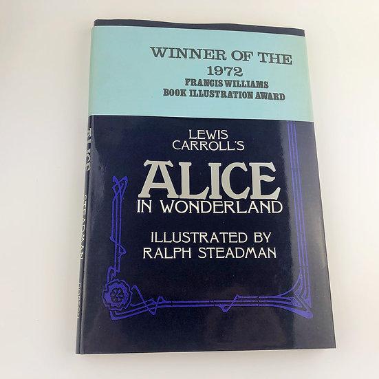 Alice in Wonderland by Lewis Carroll / Ralph Steadman 1st / 1st 1967 scarce band