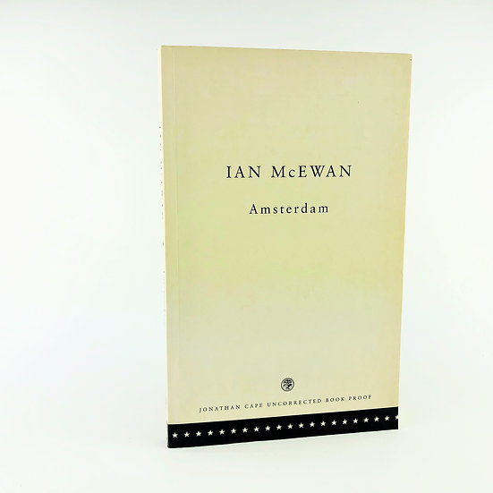 Amsterdam by Ian McEwan 1st Proof 1998