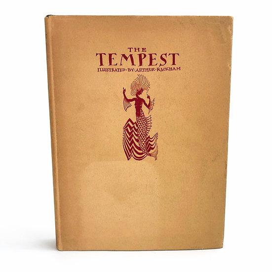 The Tempest by William Shakespeare / Arthur Rackham 1st 1926
