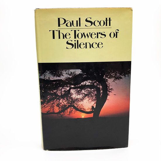 The Towers of Silence Signed by Paul Scott 1st / 1st 1971
