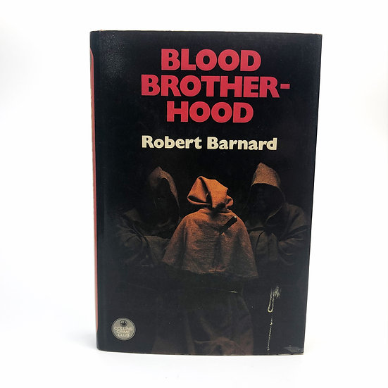 Blood Brotherhood Signed by Robert Barnard 1st / 1st 1977