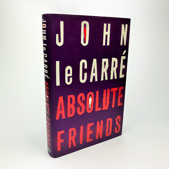 Absolute Friends signed by John Le Carre 1st / 1st 2003