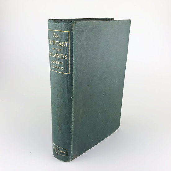 An Outcast of the Islands by Joseph Conrad 1st / 1st 1896