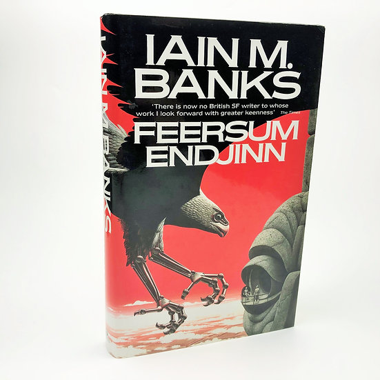 Feersum Endjinn Signed by Iain M. Banks 1st / 1st 1994