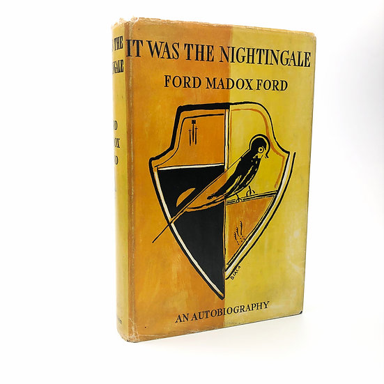It Was The Nightingale by Ford Madox Ford 1st / 1st 1934
