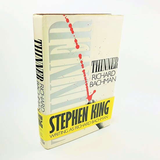 Thinner by Stephen King (Richard Bachman) 1st / 1st 1985