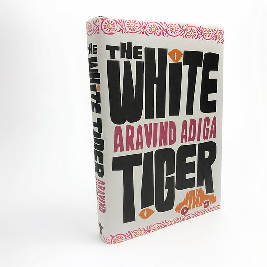 The White Tiger Signed by Aravind Adiga 1st / 1st 2008