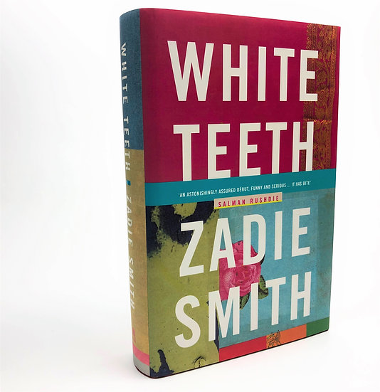 White Teeth + Lippes Loop signed by Zadie Smith 1st / 1st 2000