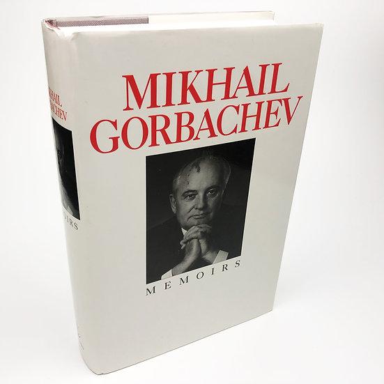 Memoirs signed association copy by Mikhail Gorbachev 1st / 1st 1995