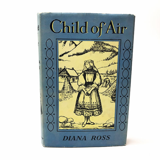 Child of Air signed and doodled by Diana Ross 1st / 1st 1957