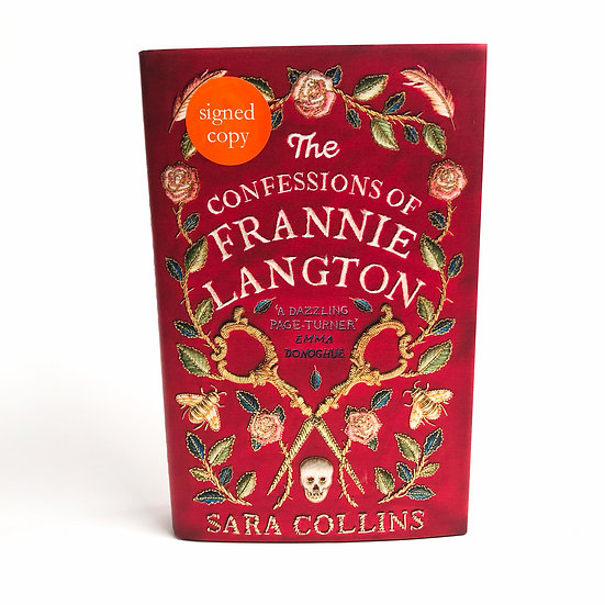 The Confessions of Frannie Langton signed by Sara Collins, 1st/1st, 2019