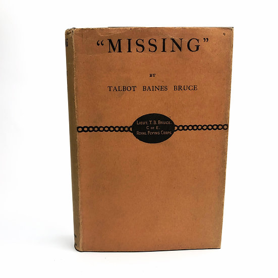 """Missing"" by Talbot Baines Bruce 1st / 1st 1929"
