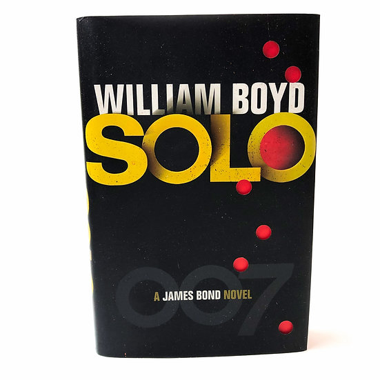 Solo by William Boyd, 1st/ 1st, 2013