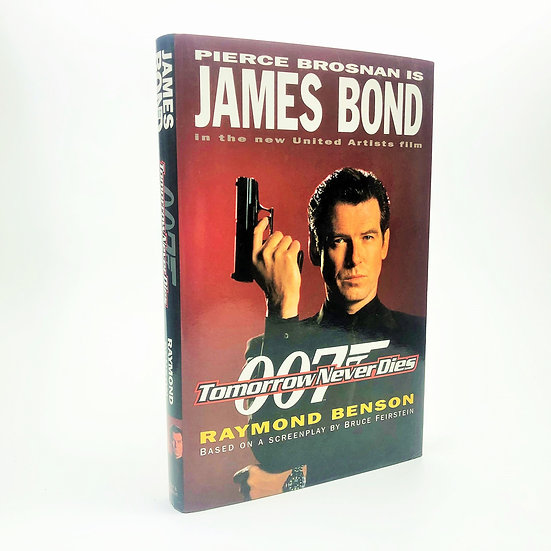 Tomorrow Never Dies Signed by Raymond Benson 1st / 1st 1997