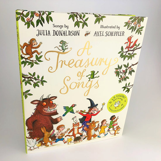 A Treasury of Songs signed by Julia Donaldson 1st / 1st 2016