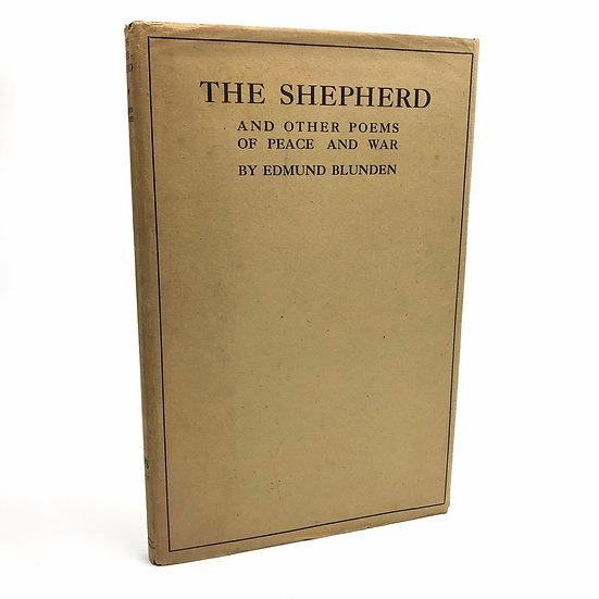 The Shepherd by Edmund Blunden 1st / 1st 1922
