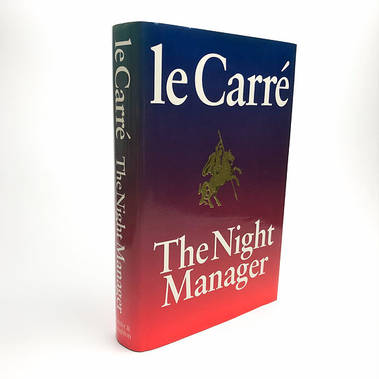 The Night Manager Signed by John Le Carre 1st / 1st 1993