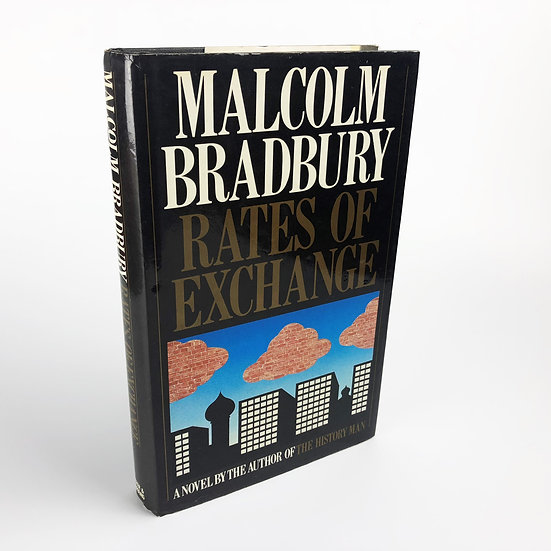 Rates of Exchange SIGNED by Malcolm Bradbury 1st / 1st 1983