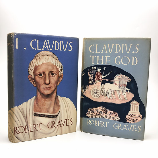 I, Claudius and Claudius the God by Robert Graves 1st / 1st 1934