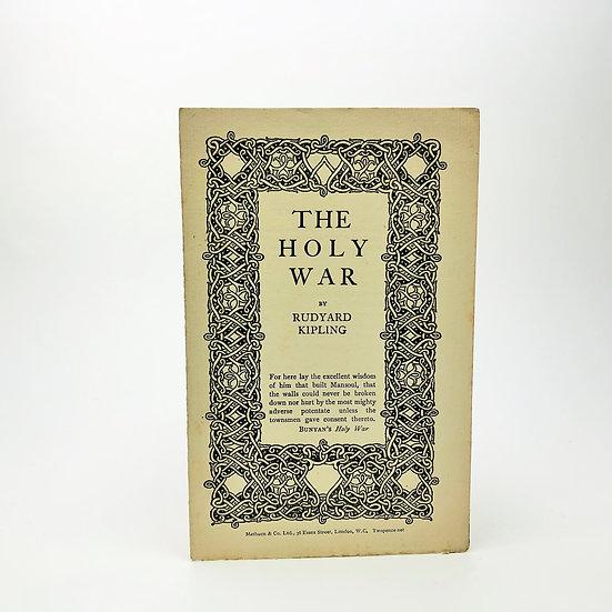 The Holy War by Rudyard Kipling 1st / 1st 1917