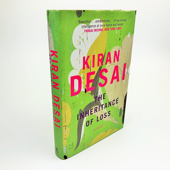 The Inheritance of Loss signed by Kiran Desai 1st / 1st 2006