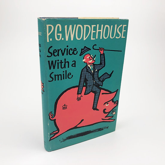 Service with a Smile by P.G. Wodehouse 1st / 1st 1962