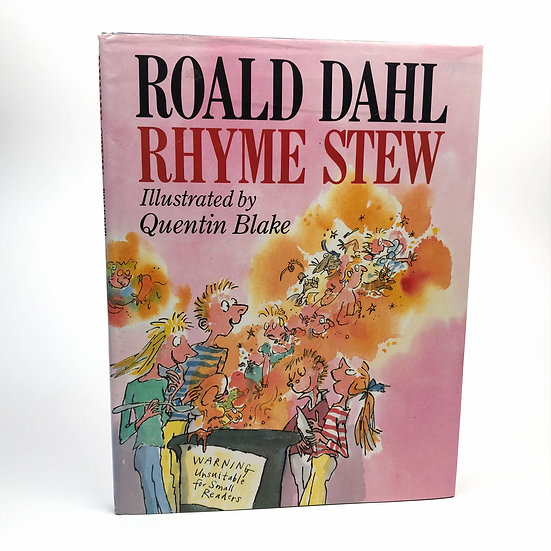 Rhyme Stew by Roald Dahl 1st / 1st 1989