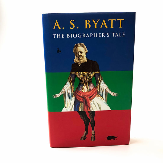 The Biographer's Tale, signed by the author, 1st/ 1st, 2000