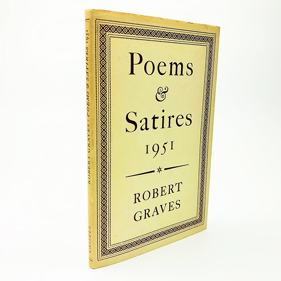 Poems & Satires 1951 by Robert Graves 1st / 1st 1951