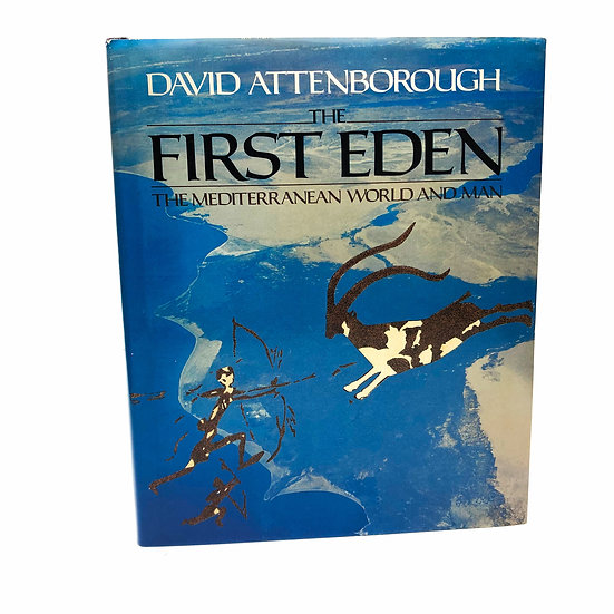 The First Eden Signed by David Attenborough 1st / 1st 1987