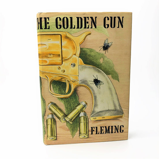 The Man With The Golden Gun by Ian Fleming 1st / 1st 1965